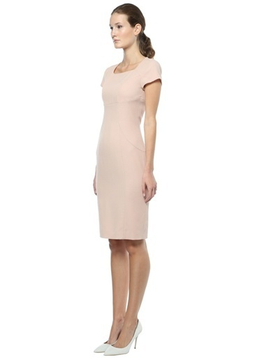 Moschino Cheap & Chic Elbise Pembe